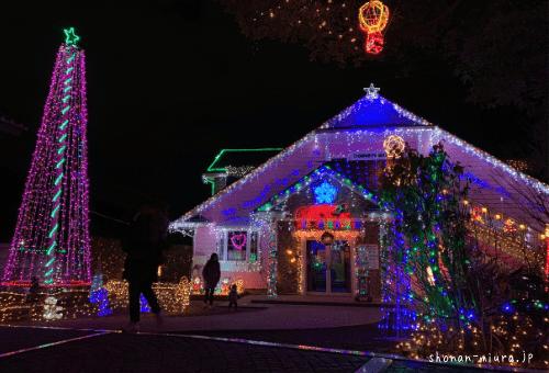 横須賀相武幼稚園クリスマスイルミネーション
