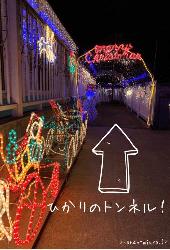 相武幼稚園光のトンネル