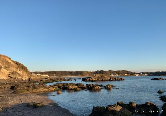 和田長浜ビーチを望む