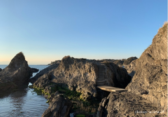 佃荒崎~和田長浜の海岸