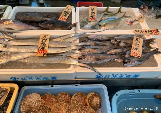 長井水産鮮魚直売所