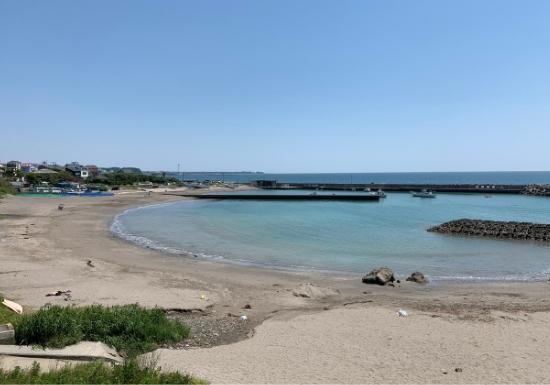 横須賀市久留和海岸