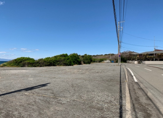 三戸浜海岸無料駐車場(北側)