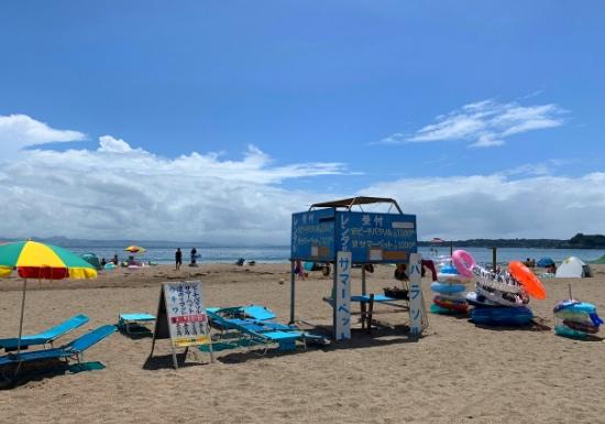 三浦海岸の夏の風景