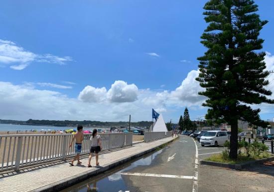 三浦海岸の夏