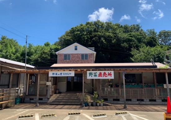 三浦半島道の駅『野菜の里スガルヤ』