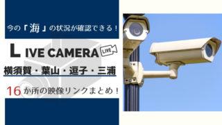 三浦半島ライブカメラ映像まとめ