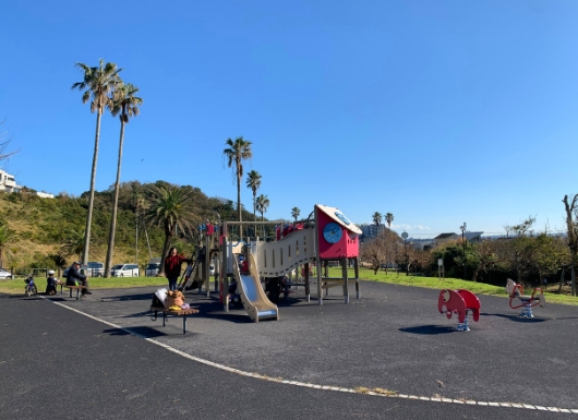 なぎさの丘公園の遊具