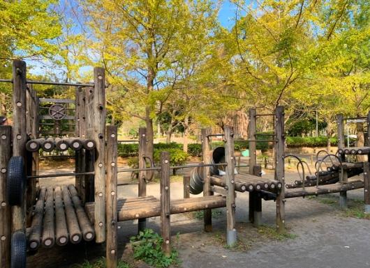 葉山南郷公園の遊具