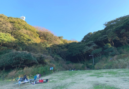 観音崎公園バーベキュー広場