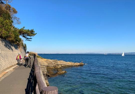観音崎公園海岸遊歩道