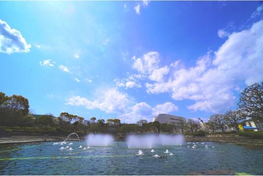三笠公園 噴水