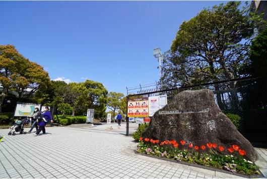 三笠公園の正面入口