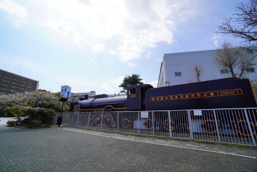三笠公園汽車