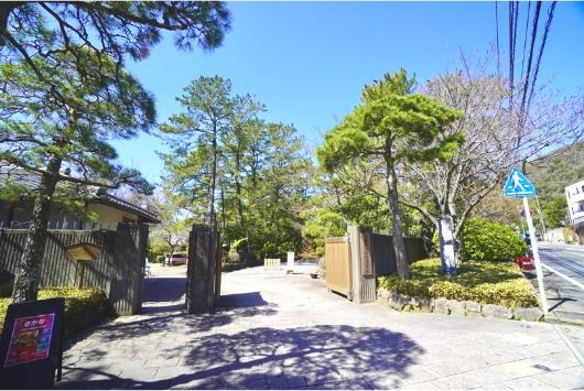 葉山しおさい公園入口