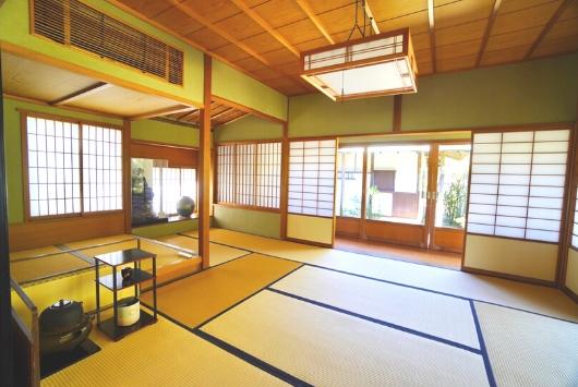 一景庵の茶室