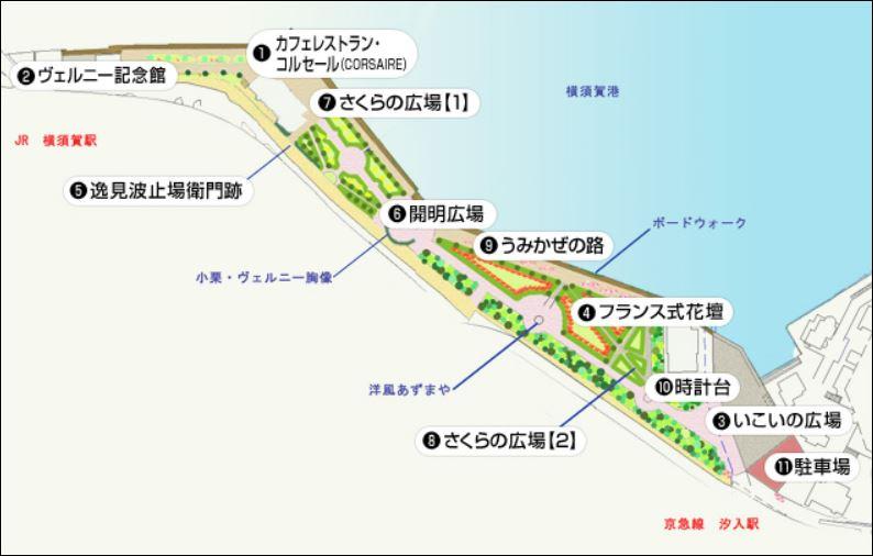 ヴェルニー公園MAP