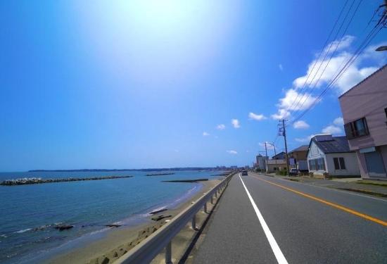 三浦半島ドライブ(三浦海岸)