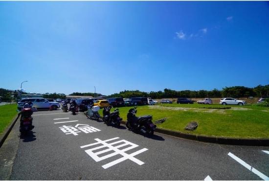 城ケ島公園 バイク駐輪場