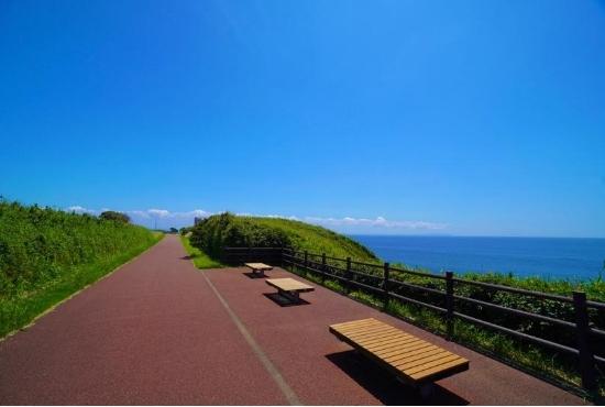 城ケ島公園 絶景遊歩道