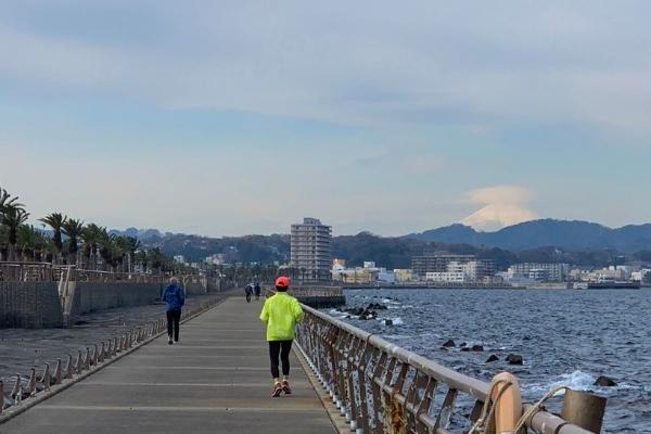 馬堀海岸ジョギング