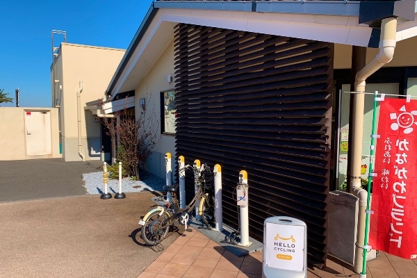 湯楽の里 自転車