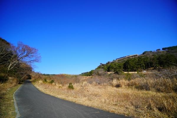 湘南国際村側の大楠山登山道口