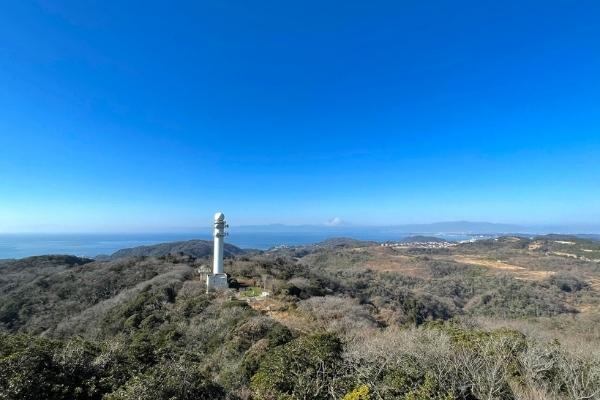 大楠山山頂からの眺望