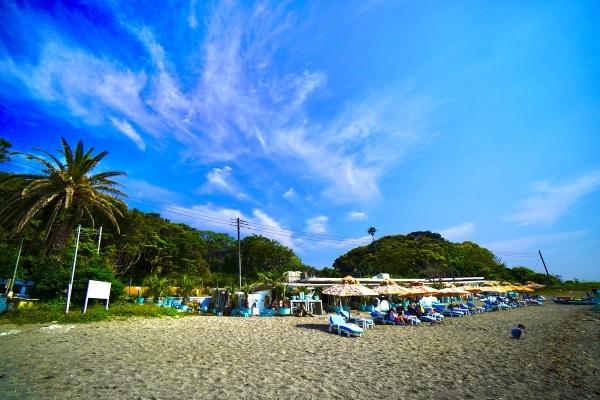荒井浜海岸海の家