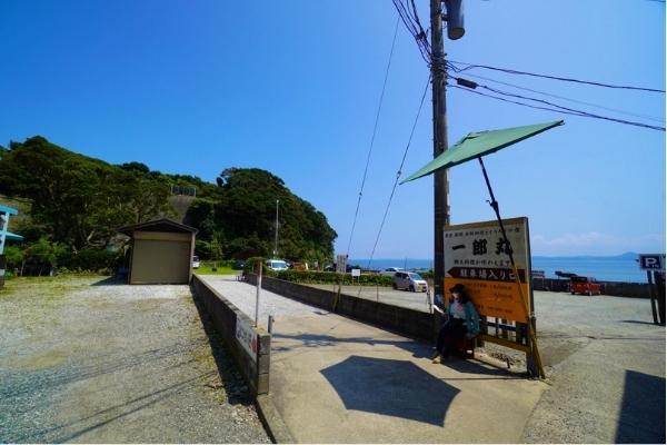 大浦海岸駐車場